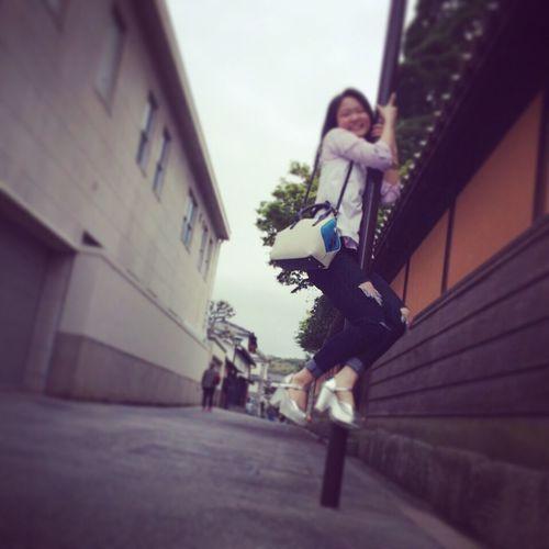 美観地区での出来事🏊🌷 美観地区 That's Me Kirara ♡ Happy