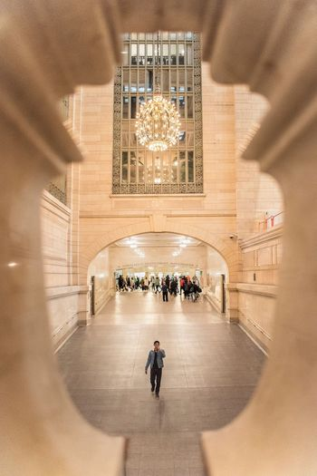 Grand Central Terminal Grand Central Station Architecture Real People Built Structure Men Group Of People Travel Destinations People Lifestyles Travel Tourism Crowd My Best Photo