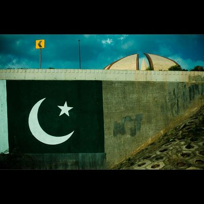 The Pakistan national flag was adopted in its present form during a meeting of the Constituent Assembly on August 11, 1947. The flag is a green field with a crescent moon and five rayed star at its center and a vertical white stripe at the hoist side. The flag was designed by Amiruddin Kidwai and is based on the All-India Muslim league flag. In the background of the frame the structure is the 'Pakistan Monument' in Islamabad . It is a national monument representing the nations four provinces and three territories. The final design of the structure was designed by Arif Masood. Oddly enough I still havent had the chance to examine the monument up close and take closer shots. Hopefully soon, till then I'm pretty happy with this. *all the facts have been taken from Wikipedia and other sources on the internet. Do lemme know if something I've stated is incorrect. Pakistan Ontheroad Photooftheday Monument Monumentour Visit Visitmyig Lovemycity Green Sky Clouds Worlderlust Architecture Stunning Happy Aimanadeel