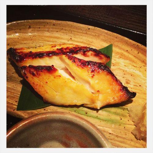 今日のお昼は、鱈の西京焼きです。