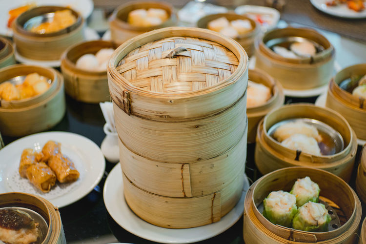 DimSum!!! Abundance Arrangement Bowl Choice Collection Food Food And Drink Freshness Group Of Objects Healthy Eating In A Row Indoors  Large Group Of Objects Plate Retail  Selective Focus Still Life Temptation