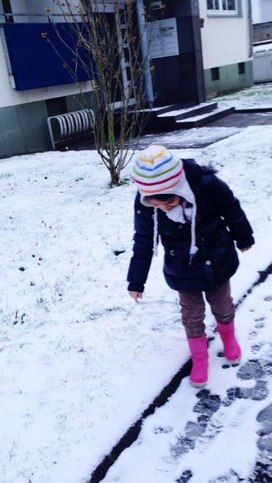 Snow Winter My Daughter EyeEm Best Shots EyeEm