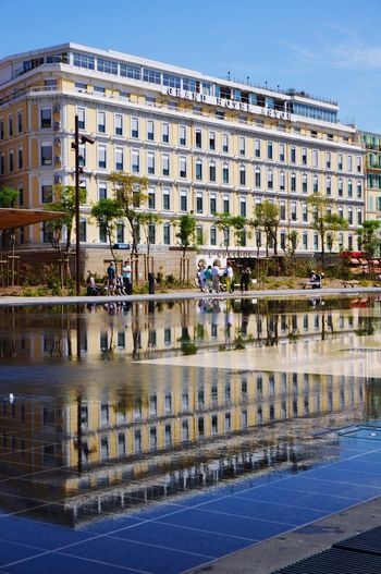 Nice / Nizza Côte D'Azur The South Of France France Façade Building Exterior Facade Building Building Architecture Cityview Cityscape City Holiday Hotel Reflection