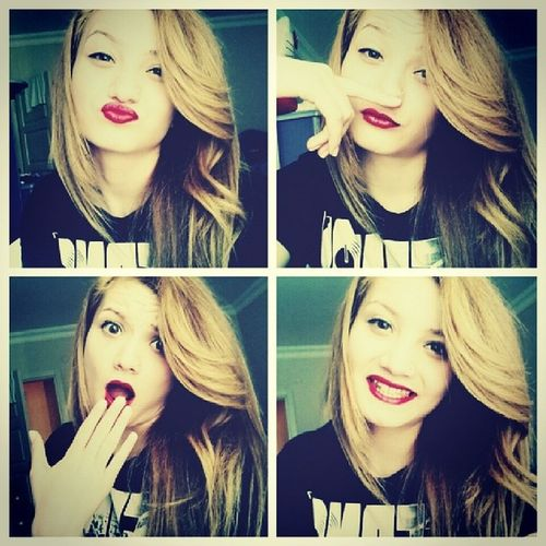 Differend Mood Smile Kiss happy photo cute