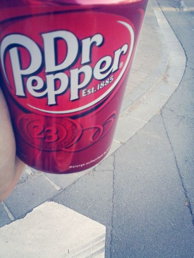 Food Photography Dr.pepper