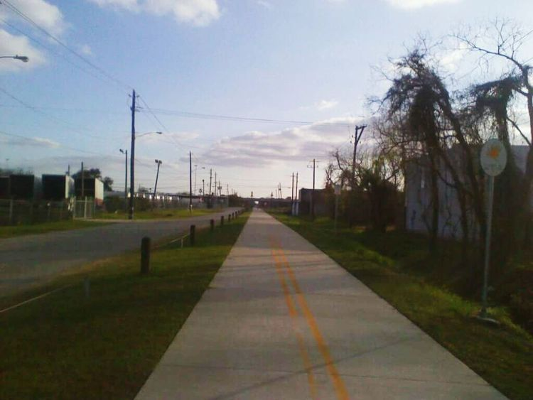 """""""Trail"""" EyeEmNewHere NTENSElifestyle NTENSEdesignz Images Blue Clear Sky Beauty In Nature No People OutdoorsDay Grass Nature Houston City Of Houston Houston Texas"""