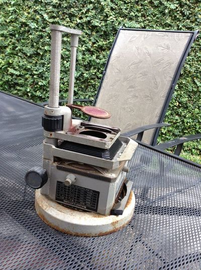 My old school property. Is there someone still using it? Microscope Fujimoto Photo Enlarger 90M
