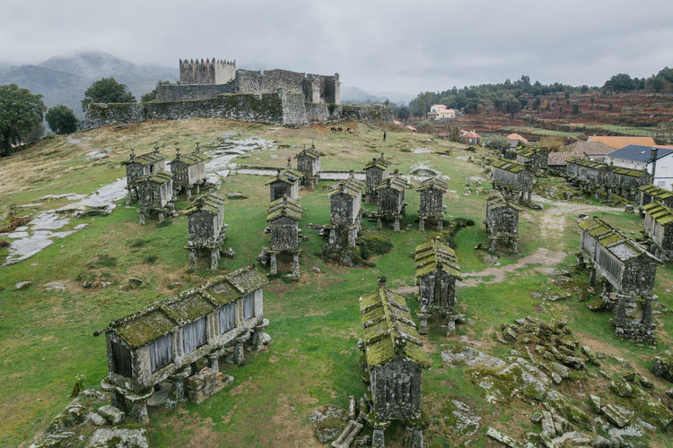 Arcos de Valdevez / Lindoso / Peneda Geres / Ponte da Barca / A Senhora Do Monte Arcos De Valdevez DJI Mavic Pro DJI X Eyeem Drone  Lindoso Peneda-Gerês National Park Aerial Aerial View Ancient Ancient Civilization Architecture Bad Condition Built Structure Castel Damaged Day Dji Dronephotography History Landscape Nature No People Old Ruin Outdoors Ponte Da Barca Sky The Past Tree Weathered