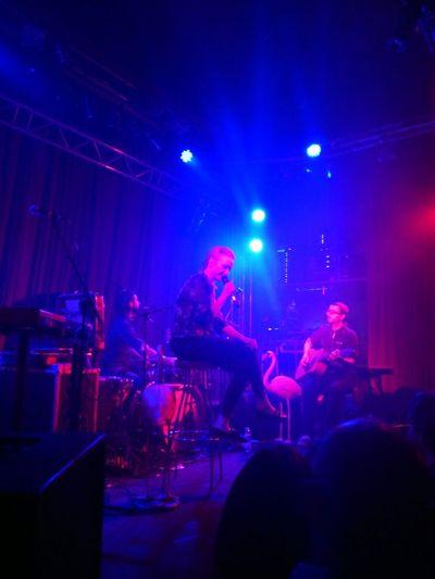 Leslie Clio in Concert .