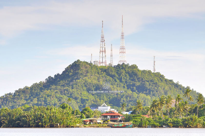 hill with telecommunication tower Broadcast Built Structure Coverage Gsm Hill Internet Metal Network Radio Technology Telecommunication Telephone Telephone Line Television Tower Tower Tree Wireless Technology