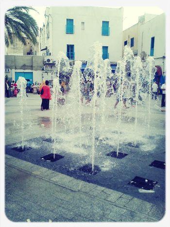 Fontain La Médina De Tunis