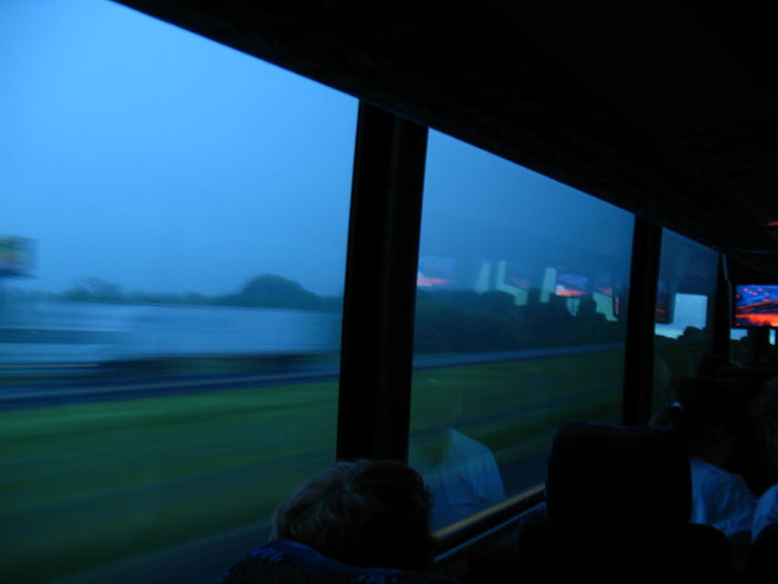 Moving along the highway Bus Morning Light Bluesky Dusk In The Country Streak Movement Dreamy Windows And Doors Nightphotography Bokeh Texas Travel Cityscape City Urban Skyline Water Fog Window Sky Architecture Landscape Foggy Non-urban Scene Countryside Tranquil Scene Tranquility Scenics Idyllic Remote