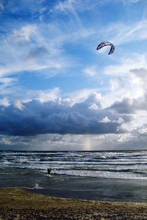 Sea Sea And Sky Sea View Seaside Stormy Weather Storm Storm Cloud Before The Storm Kitesurfing Wind Nature Beautiful Nature Blue