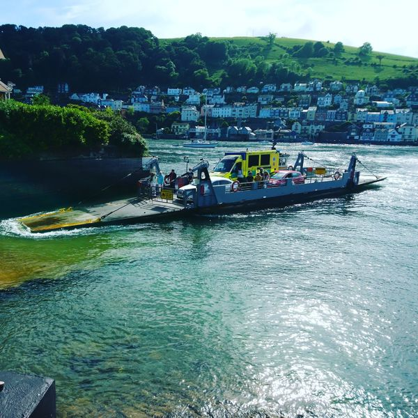 Lake Day Tree Water Devon Amazing View Ambulance Nhs Beauty In Nature Outdoors Nature Sky Car Boats⛵️ Boat South Devon Kingswear Hillside Valleys Sunny English England, UK Weird Ambulance Service Ambulance In Action First Eyeem Photo