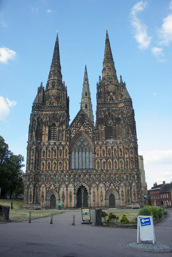 City History Sky Architecture Built Structure Tall - High Spire  Cathedral Place Of Worship Steeple Religion
