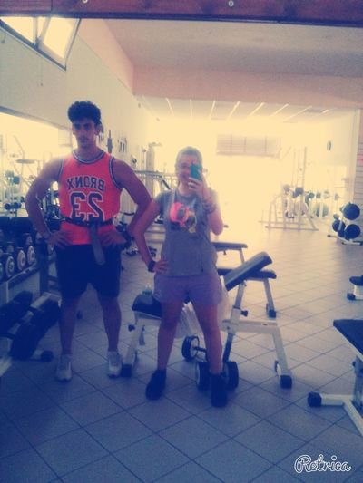 Gym Gym Gym Spacchiamo Tutto Love❤ I Love My Boyfried <3