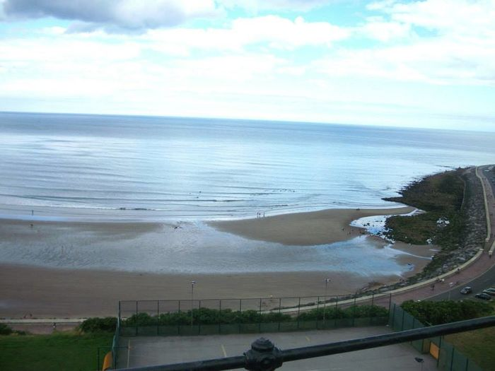 Beach in Scarborough, UK Beauty Of Country Beauty In Nature Scenes Nature Tranquility Beauty In Nature Day Scenics Swimming Outdoors Landscape