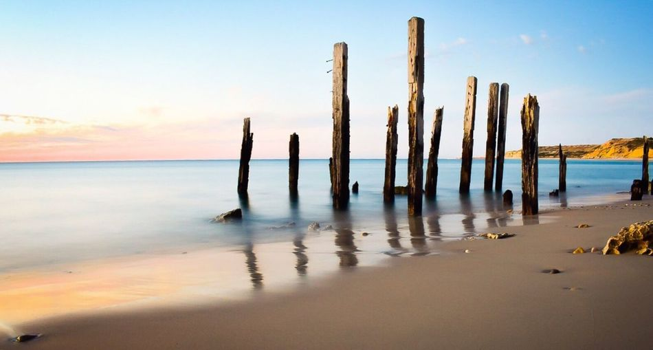 Sea Tranquil Scene Nature Tranquility Sky Water Beauty In Nature Scenics No People Beach Horizon Over Water Outdoors Day