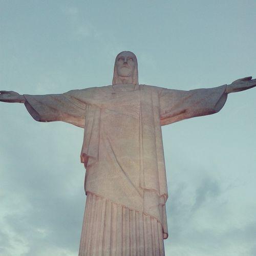 Cristo In Rio De Janeiro Corcovado Cristo Redentor-Río De Janeiro