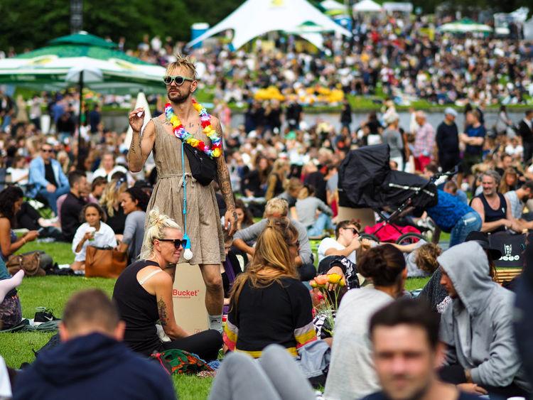 Photos from Copenhagen Crowd Denmark Festival Flowers Stella Polaris