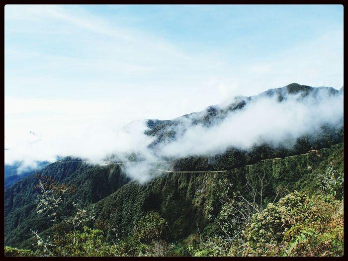 Death road in Bolivia First Eyeem Photo