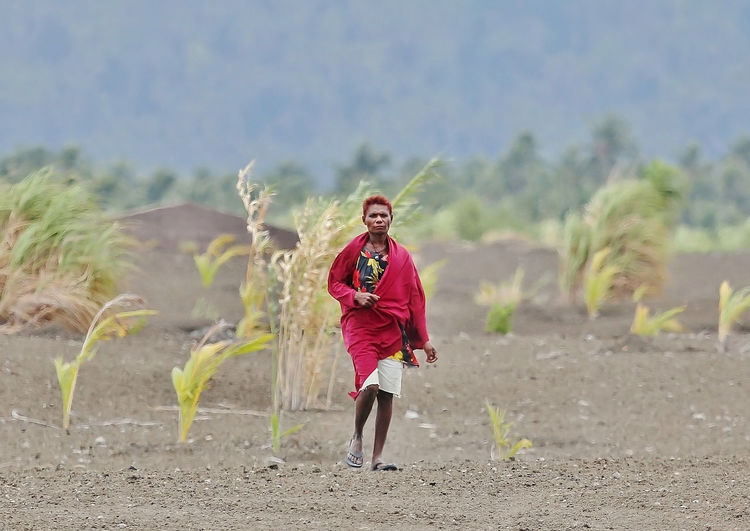 Landowners East New Britain,Papua New Guinea EyeEmNewHere Rabaul Tavurvur Volcano Harsh Landscape Locals Real People Volcano Ash