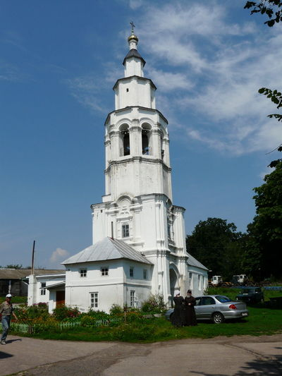 The Nikolaev Monastery - Bell tower Architecture Building Exterior Built Structure City Day Nature No People Ortodox Ortodox Church Outdoors Sky Tree