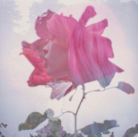 Organsinsleep Laurenluck Double Exposure Film Women Beauty Flora Roses Nature Goddess Colors Woman Mothernature 35mm Botanical Gypsy