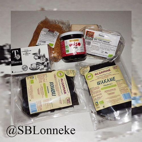 De Compras en Herbolarionavarro para hacer la siguiente Entrada : Sopa de miso nextpost whitemiso kombu wakame tofu bio eco