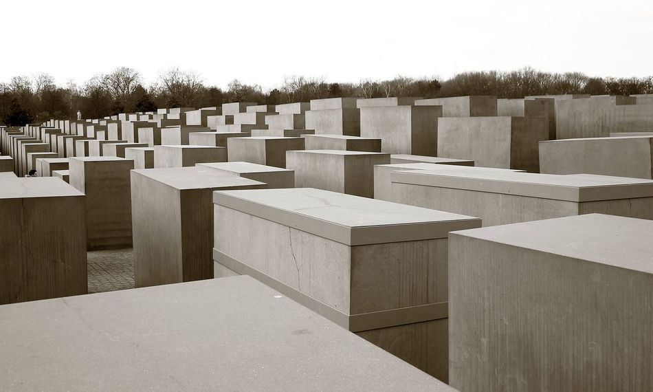 Holocaust memorial Architecture Berlin Built Structure Concrete Concrete Blocks Day Germany Grey Holocaust Holocaust Memorial Holocaust Memorial Berlin In A Row Jew Jewish Jewish Memorial Modern Modern Architecture Modern Art No People Pattern Peter Eisenman Repetition Tribute Ww2 WWII