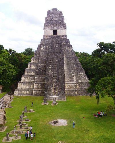 Gran Jaguar History Pyramid Old Ruin Ancient Civilization Archaeology Architecture Stone Material Building Exterior Tourism Mayan Ruins TIKAL GUATEMALA Guatemala 🇬🇹