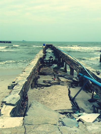 Huahin Хуа Хин, пирс, Abandoned