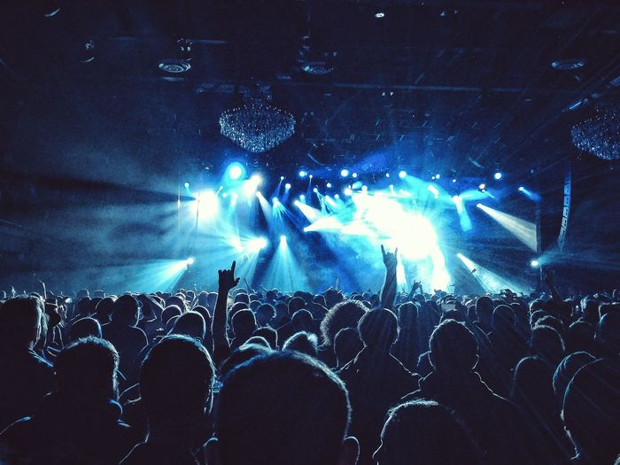 Concert Philadelphia Crowd Slayer VSCO Heavy Metal Music Rock Headbanging \m/ Fillmore Philadelphia IPhoneography Iphone 6 Plus Color Palette Music Brings Us Together