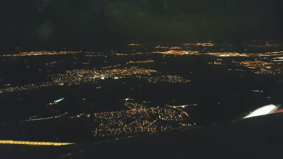 Cities At Night Night Lights AirPlane ✈ View From Above Night Shades Live For The Story