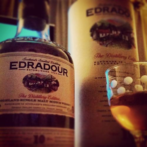 エドラダワー美味しい。 Edradour エドラダワー シングルモルト 世界最小 Singlemalt Scotch スコッチ Hideout Hideoutworks ウィスキー Whisky ウエスポン