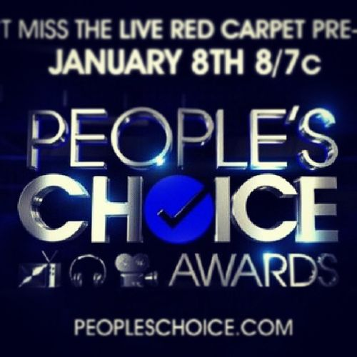 Omg Today Pca Peoplechoiceawards i'm so excited!!!