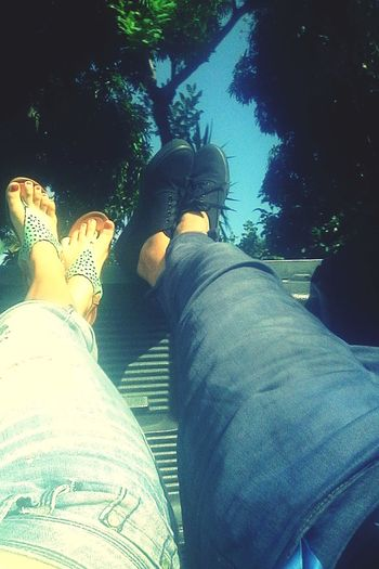 De viaje junto a él Taking Photos Enjoying Life Relaxing Shoes ♥ Good Time Today :) With My Brother<3