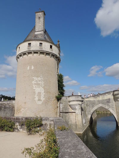 Chenonceau Chenonceaux Loire Loire Valley France Architecture Built Structure Sky Building Exterior Building Nature Cloud - Sky Day History Connection The Past Water Bridge Tower Plant No People Travel Old Bridge - Man Made Structure Outdoors Arch Bridge