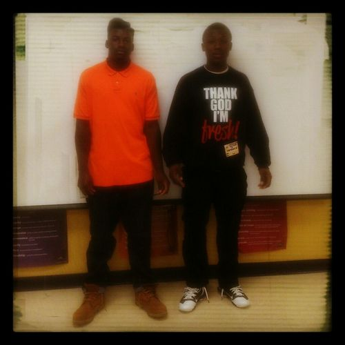 mehh and tha bro Y-K
