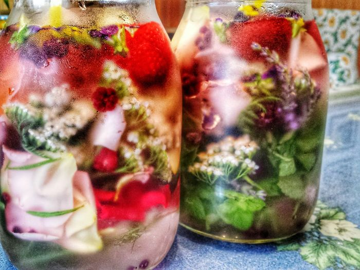 Healthy Eating Close-up Freshness Herbalife Herbalism Ice Tea Time No People Day Indoors  From The Garden Summer Drinks Flowery Magic Flowerpower Flower Tea  Cold Tea Magic Water Super Food Ice Cold Water  Best Drink Ever Fresh Scent