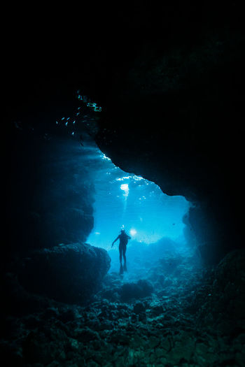 okinawa blue Adult Adults Only Adventure Beauty In Nature Blue Bubble Cave Diving Equipment Diving Flipper Exploration Extreme Sports Full Length Leisure Activity Nature One Person Only Men People Real People Scuba Diving Sea Swimming UnderSea Underwater Underwater Diving Water The Great Outdoors - 2018 EyeEm Awards