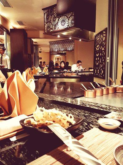 Fine Dining Experiences Fine Dining Fine Dining Restaurant Interior Design Interior Lights  Interior Decoration Teppanyaki
