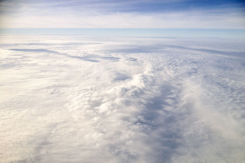 Beauty In Nature Blue Cloud Cloud - Sky Cloudscape Cloudy Day Idyllic Landscape Majestic Nature Nature No People Non-urban Scene On The Plane Outdoors Remote Scenics Sky Sky And Clouds Sky_collection Tranquil Scene Tranquility Weather White