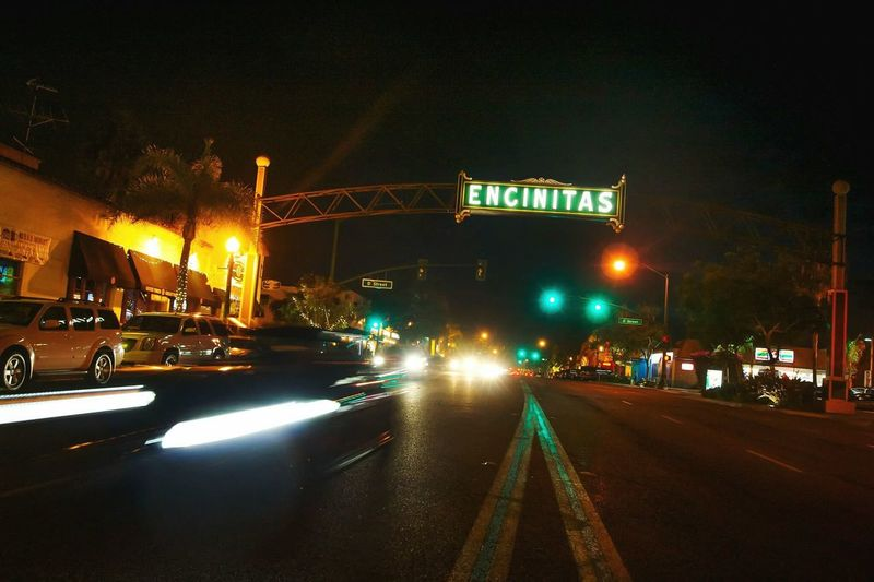 I can ride til' I see you. Just let me do it. But not for endless nights. If I have to. I don't believe in you. Night Car Illuminated Road Sign California California Coast Nightphotography Encinitas California Encinitas Tripod Signs In The Sky Drivebyphotography Driving Around