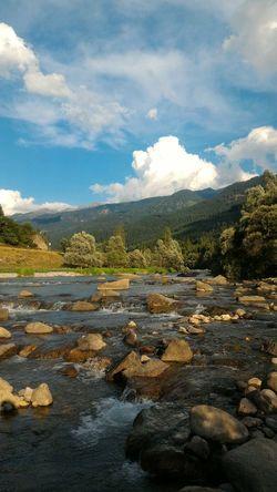 River Mountains Summer