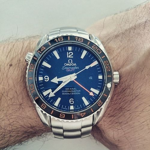 This monster. Absolutely crazy! Birthday Omega Seamaster 600m planetocean