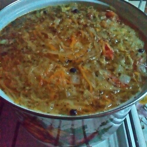 First Eyeem Photo Russians,sauerkraut Sour,meatleess