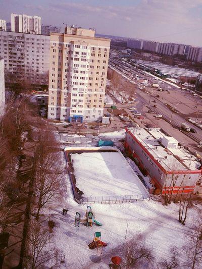 Moscow орехово-кокосово:-)