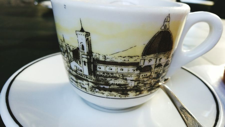 Coffe Cup Coffee ☕ Artistic Cup Florence Skyline Florence Italy Bar Photographer Picoftheday