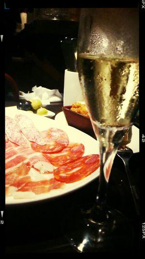 Last Drink, I Promise Champagne Supernova Drink